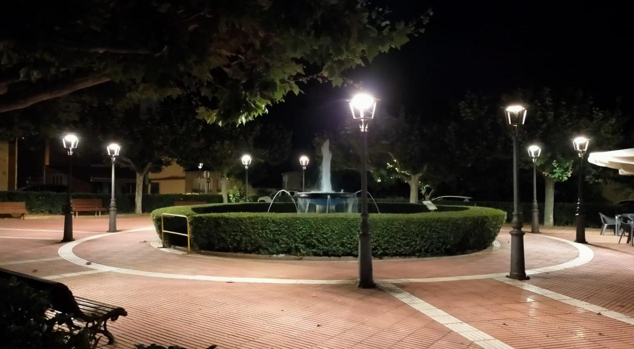 Puig-reig ja llueix amb l'enllumenat de tecnologia LED