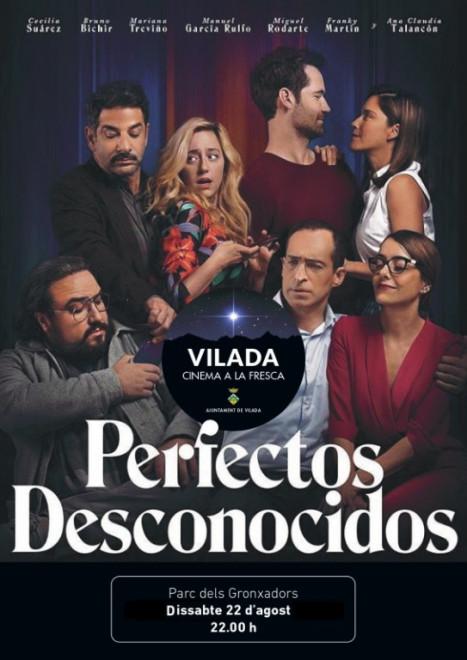 Cinema a la fresca: Perfectos desconocidos @ Parc dels Gronxadors (VILADA)