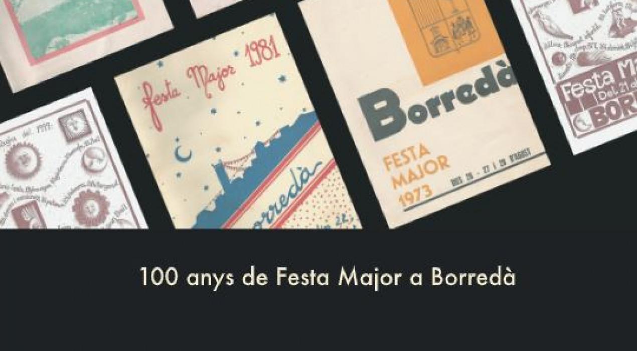 Exposició 100 anys de Festa Major a Borredà