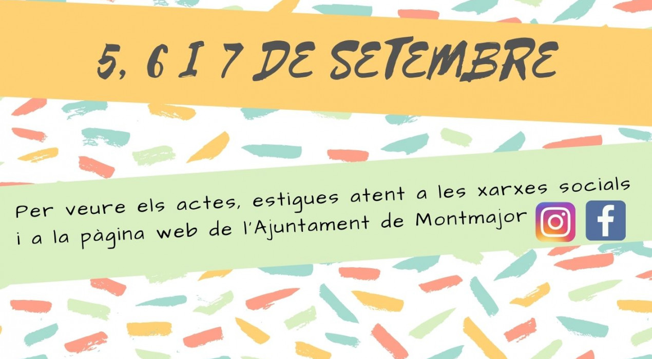 Festa Major de Montmajor 2020
