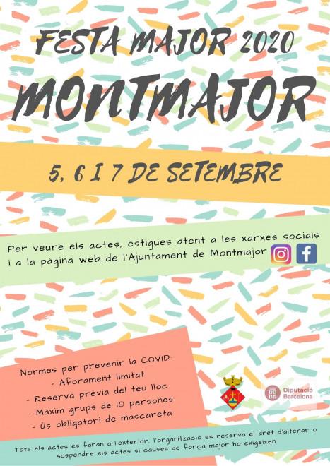 Festa Major de Montmajor 2020 @ Montmajor
