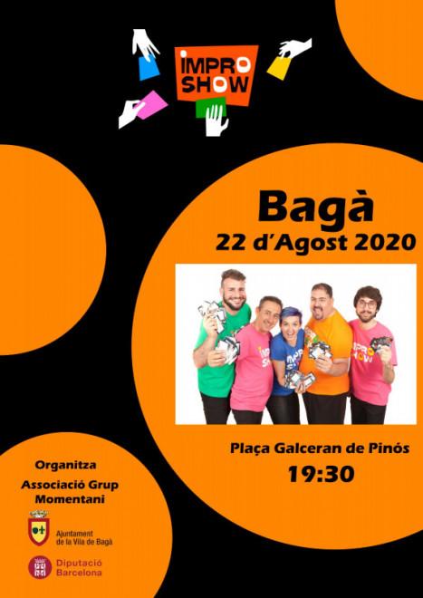 Impro show @ Plaça Galceran de Pinós (BAGÀ)