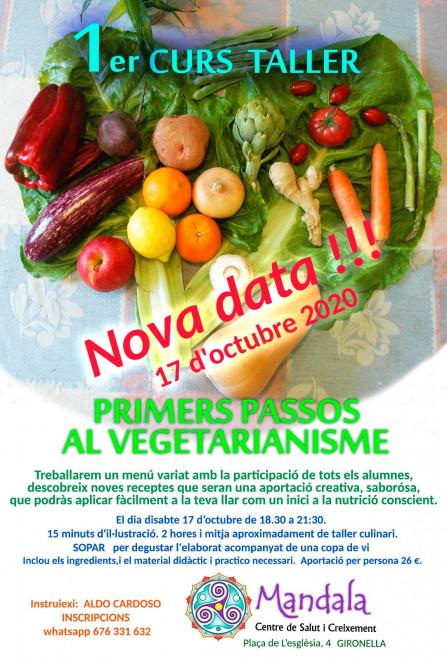 Primers passos al vegetarianisme @ Mandala (Pl. Església, 4 - GIRONELLA)