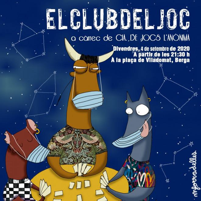 El Club del Joc @ Plaça de Viladomat (BERGA)