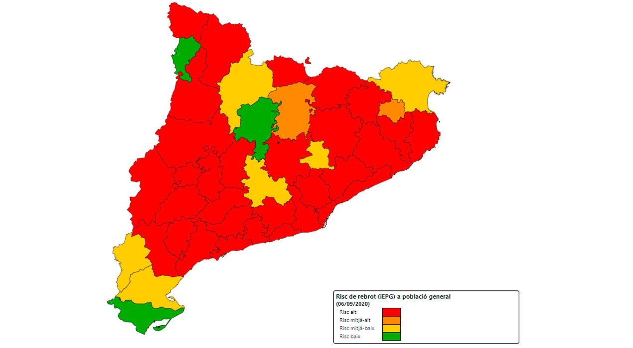El Berguedà té un sol ingressat per Covid-19, però el risc de rebrot torna a repuntar