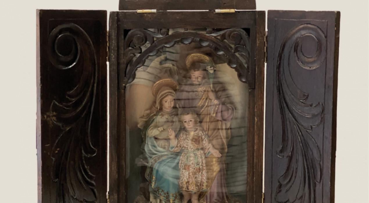 """Exposició """"Quan Déu venia a casa"""""""
