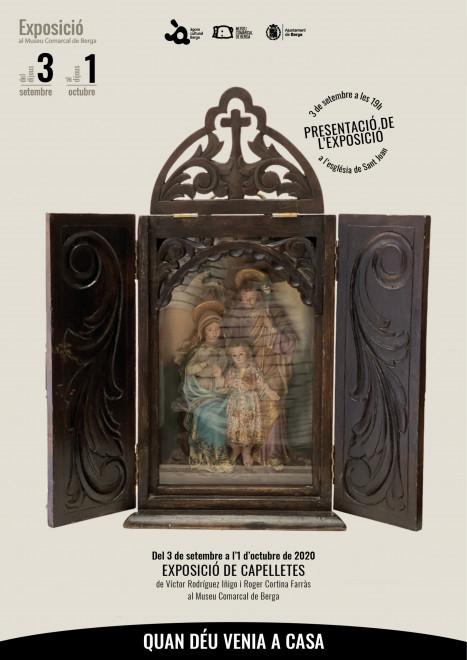 """Exposició """"Quan Déu venia a casa"""" @ Museu Comarcal de Berga"""