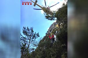 Mor un escalador a la zona dels Serrats de la Creueta, a la Nou de Berguedà