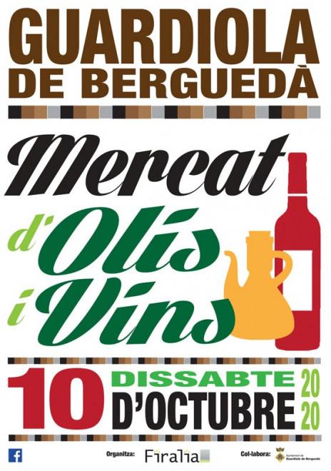 Mercat d'Olis i Vins @ Plaça de l'Església (GUARDIOLA DE BERGUEDÀ)