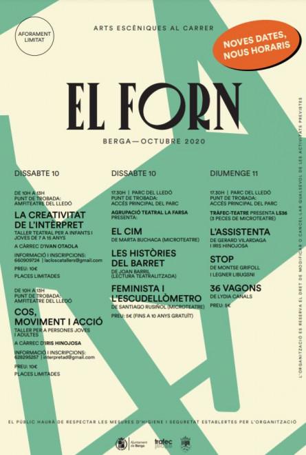 El Forn 2020. Mostra d'arts escèniques @ Parc del Lledó (BERGA)