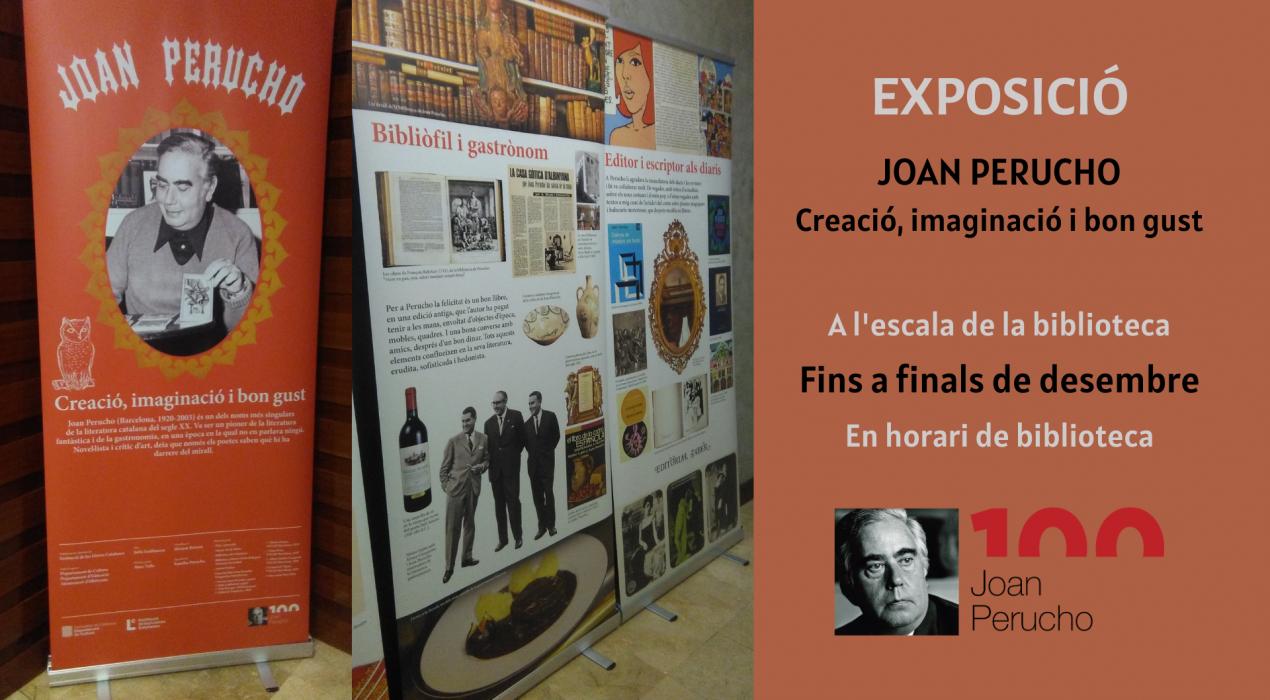 Exposició 'Joan Perucho. Creació, imaginació i bon gust'.
