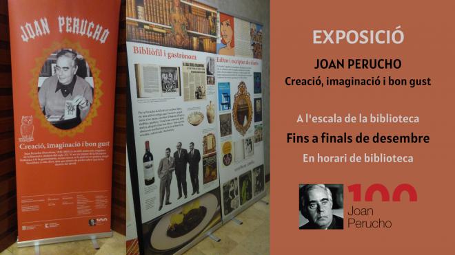 Exposició 'Joan Perucho. Creació, imaginació i bon gust'. @ Biblioteca Ramon Vinyes i Cluet (BERGA)