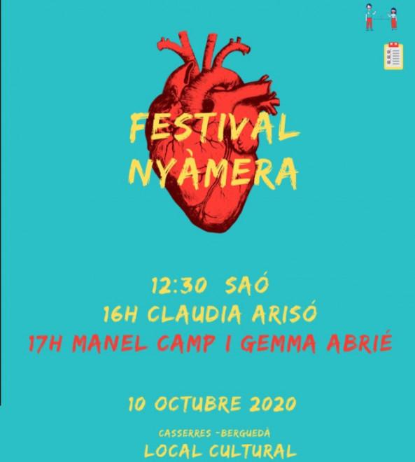Festival Nyàmera @ Local Cultural (CASSERRES)