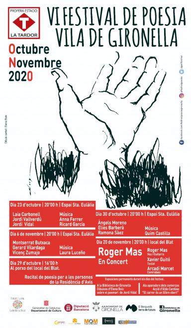 Festival de Poesia Vila de Gironella 2020 @ porxo del Local del Blat (GIRONELLA)