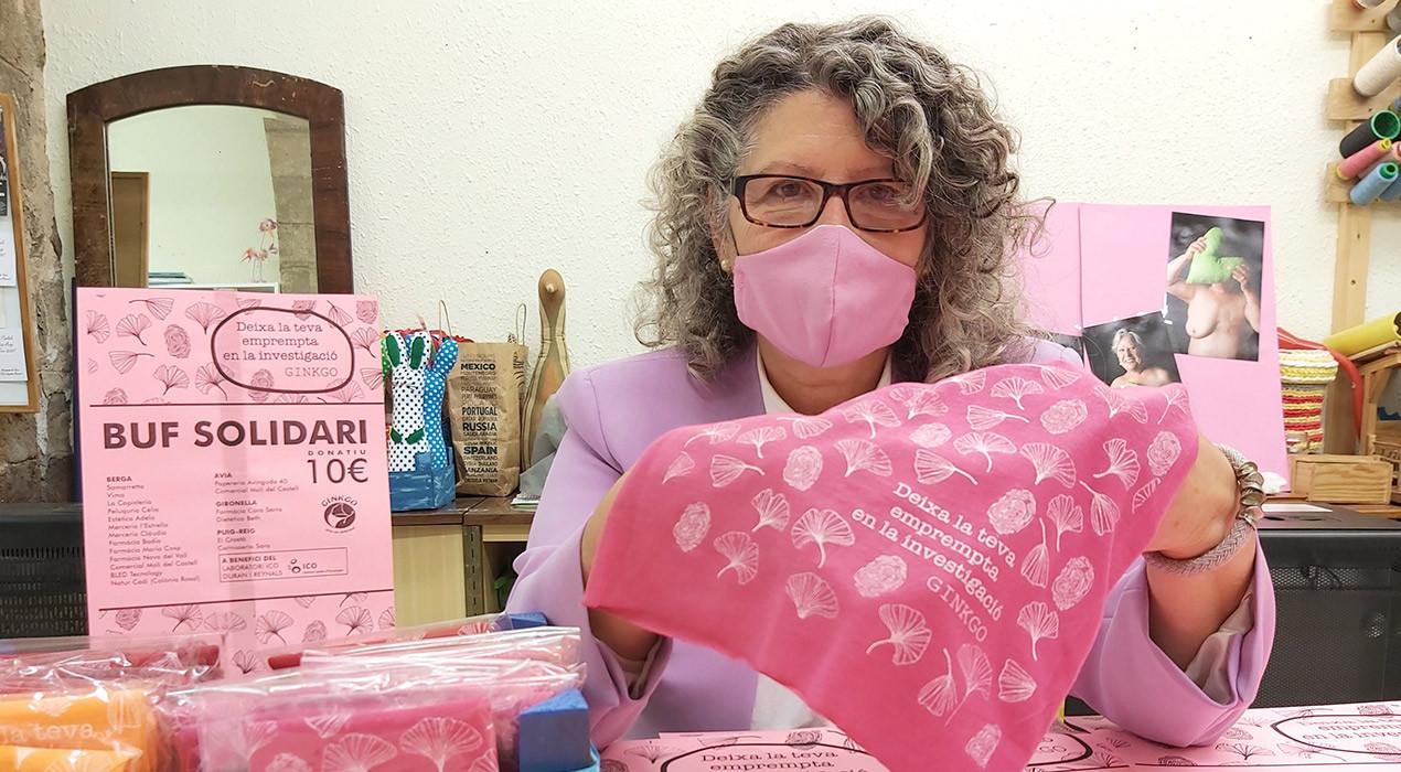 Ginkgo treu a la venda un buf solidari per seguir recaptant diners per la investigació del càncer de mama