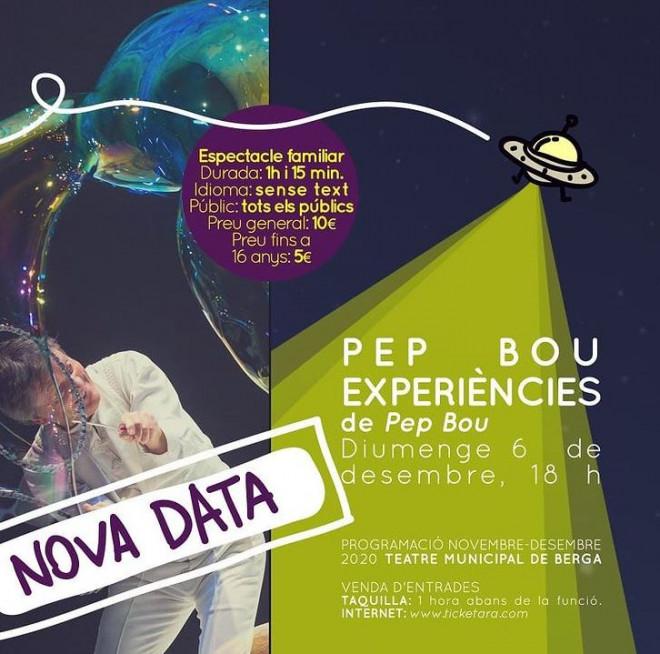 Pep Bou Experiències @ Teatre Municipal de Berga