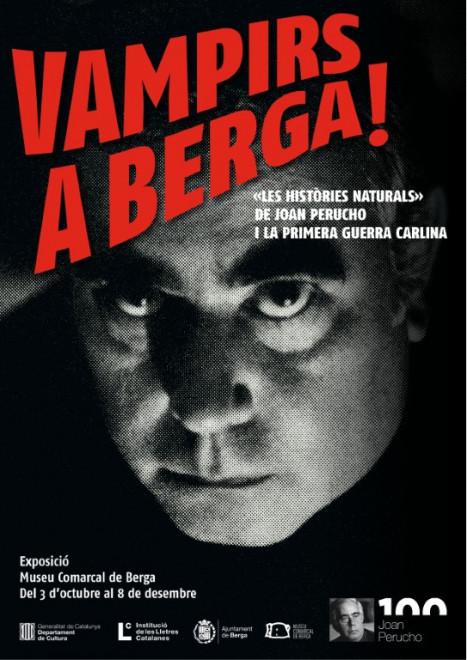 """Exposició """"Vampirs a Berga! Les històries naturals de Joan Perucho i la Primera Guerra Carlina"""" @ Museu Comarcal de Berga"""