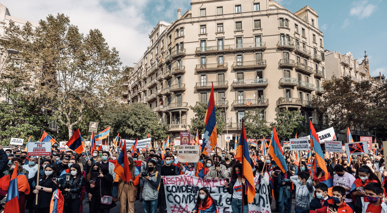 L'Ajuntament de Berga condemna l'agressió militar de l'Azerbaidjan a la República d'Artsakh i la col·laboració de Turquia