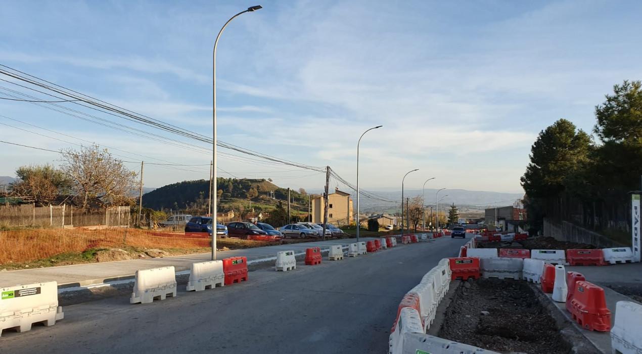 Les obres de modernització del Polígon de La Valldan comportaran talls d'aigua a partir de divendres