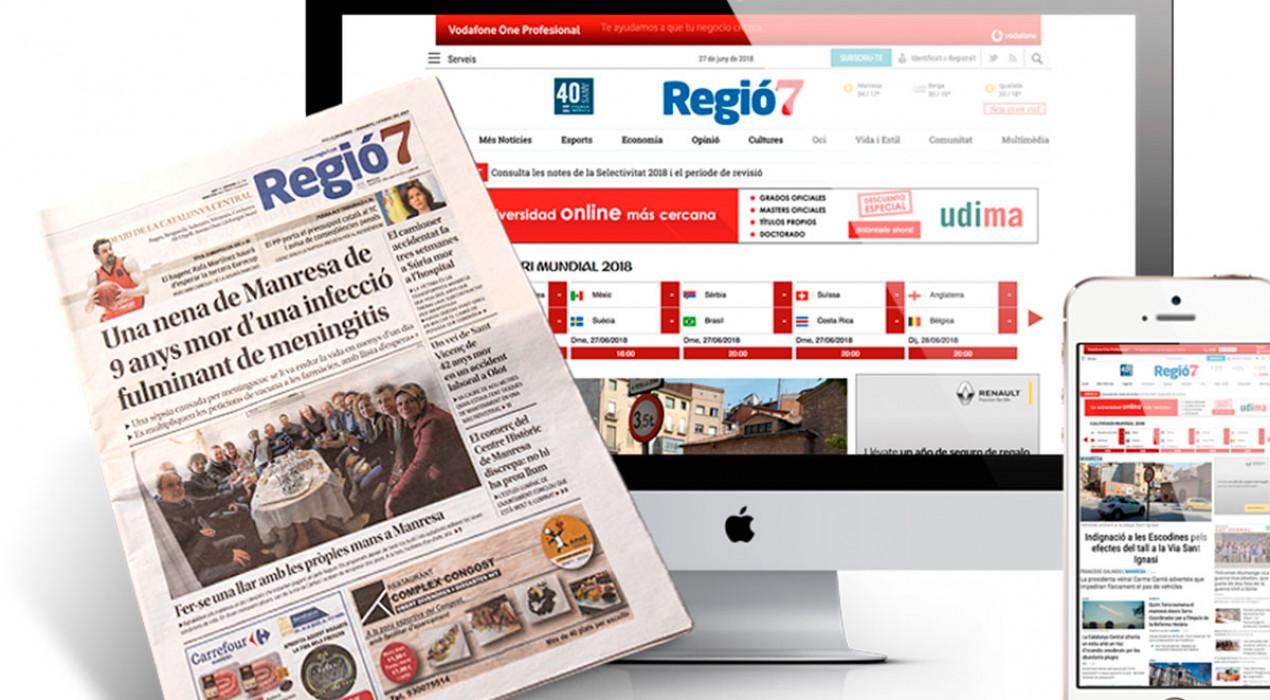 """El comitè d'empresa del diari Regió7 rebutja """"el degoteig d'acomiadaments"""" dels últims mesos"""