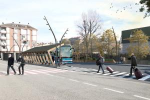 Així serà l'estació d'autobusos de Gironella