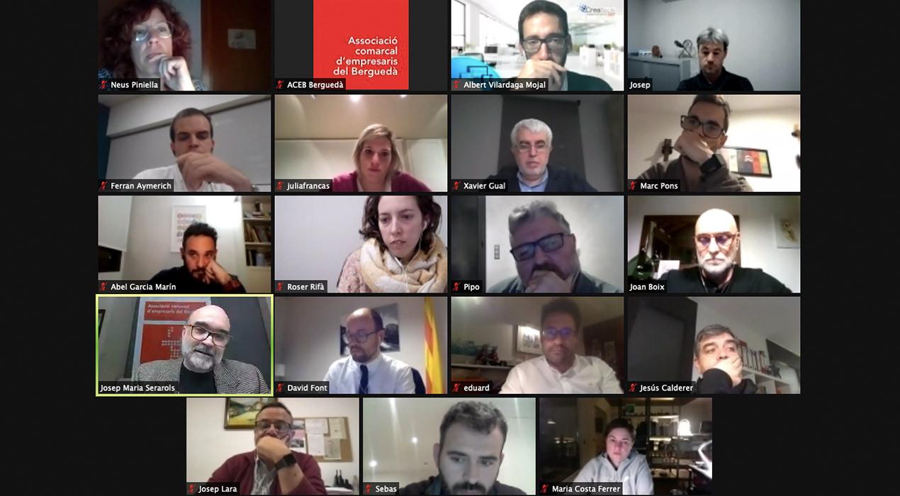 Consens entre polítics, empresaris i entitats per tirar endavant el pla de l'ACEB per a l'economia del Berguedà
