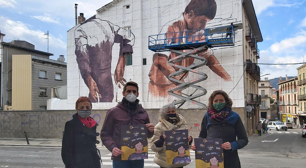 10.000 euros en una campanya per regalar 10, 20 o 40 euros per comprar al comerç de proximitat de Berga