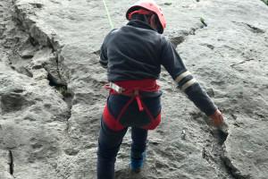El govern de Berga adverteix que des del 2004 només es pot escalar al Roc de l'Alou i al Mercadal