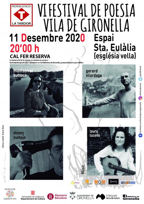 Festival poesia Vila de Gironella 2020 @ Espai Santa Eulàlia (GIRONELLA)