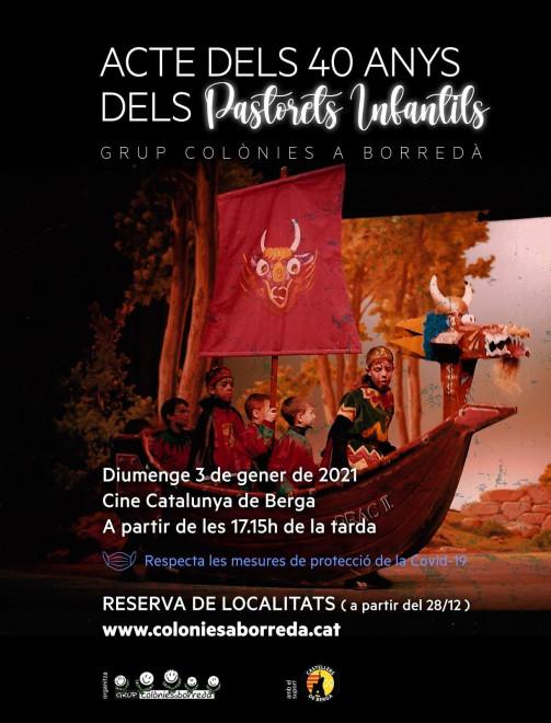Acte 40 anys Pastorets Infantils @ Cinema Catalunya (BERGA)