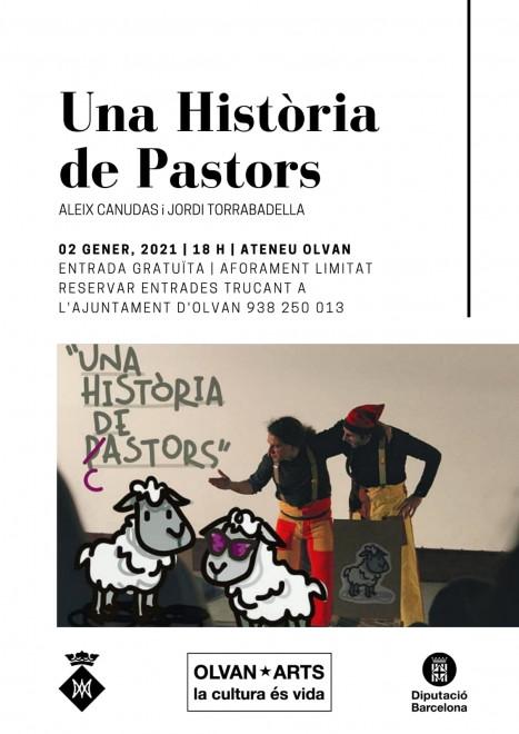 """OLVAN*ARTS: """"Una història de pastors"""" @ Ateneu d'Olvan"""