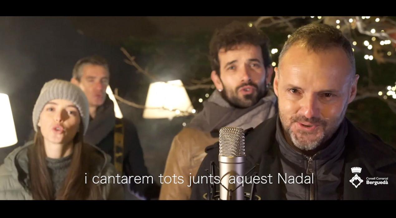 Presenten 'L'àvia', un videoclip protagonitzat per músics del Berguedà en homenatge als avis que aquest Nadal faltaran a taula