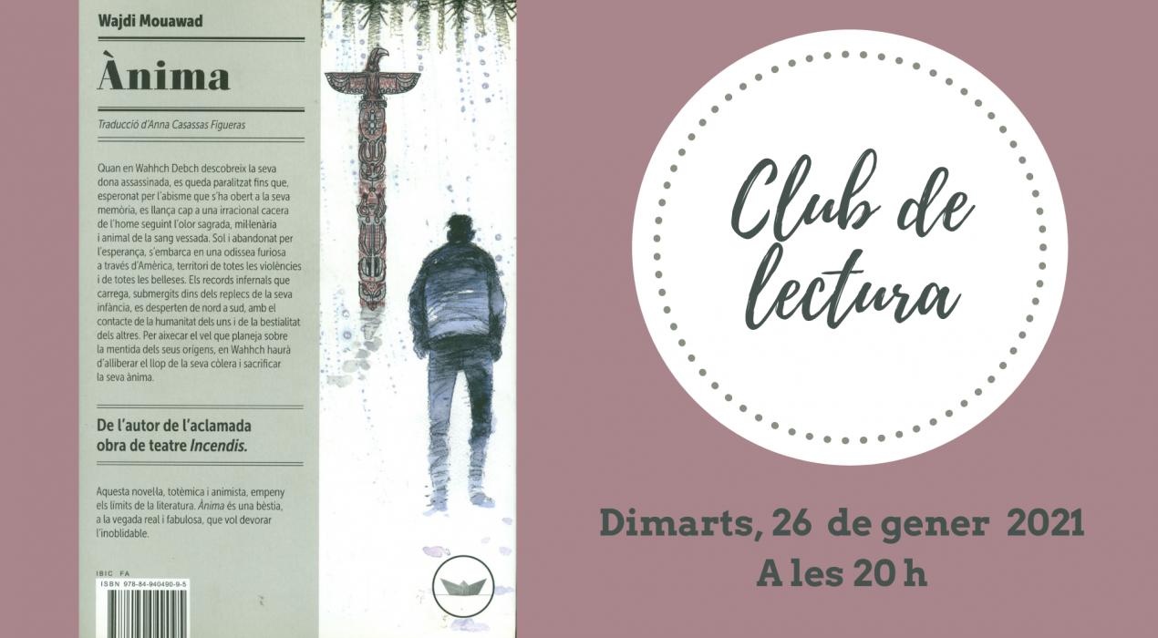 "Club de lectura ""Ànima"""