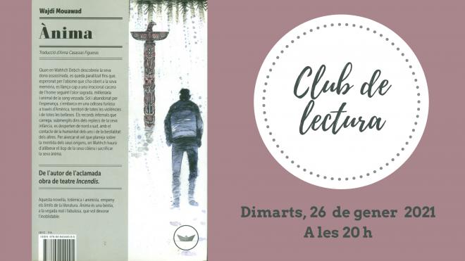 """Club de lectura """"Ànima"""" @ Biblioteca Ramon Vinyes i Cluet (BERGA)"""