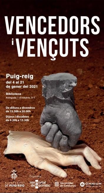 Exposició VENCEDORS I VENÇUTS @ Biblioteca Guillem de Berguedà (PUIG-REIG)