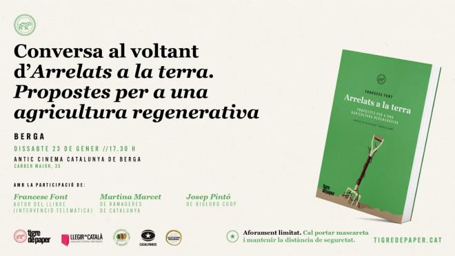 Arrelats a la terra. Propostes per a una agricultura regenerativa @ Cinema Catalunya (BERGA)