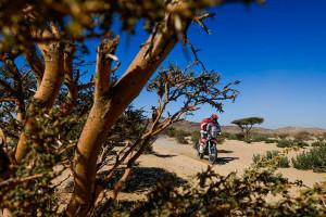 Marc Calmet, de Guardiola de Berguedà, acaba el seu primer Dakar