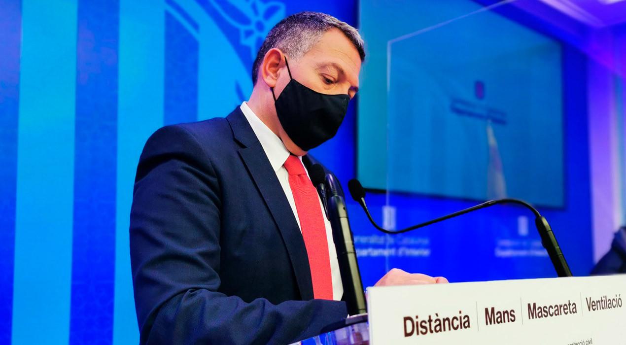 El conseller d'Interior reafirma les restriccions al Berguedà: no es podrà sortir del municipi, com a mínim, fins la setmana que ve