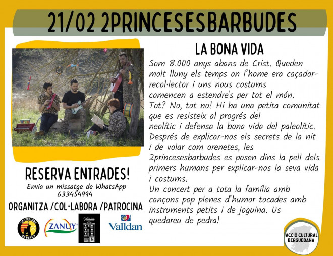 2 princeses barbudes @ Cinema Catalunya (BERGA)