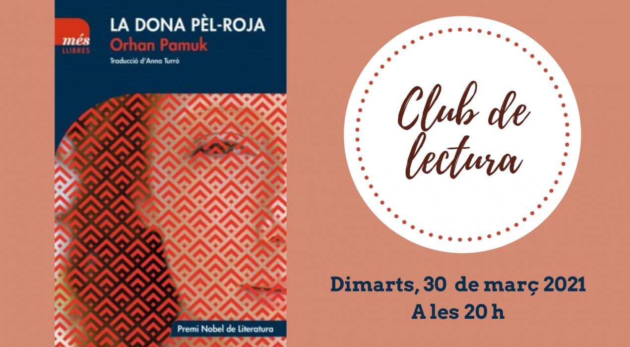 Club de lectura: La dona pèl-roja