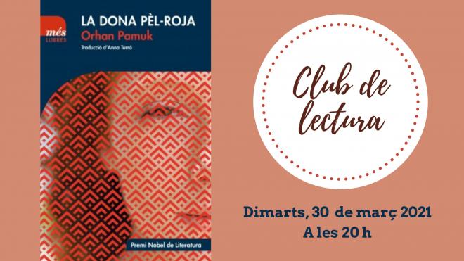 Club de lectura: La dona pèl-roja @ Biblioteca Ramon Vinyes i Cluet (BERGA)