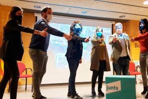 Marea turquesa al Berguedà: Junts guanya les eleccions en 27 dels 31 municipis de la comarca