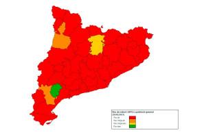 El Berguedà és la segona comarca de Catalunya amb un percentatge més baix de nous contagiats