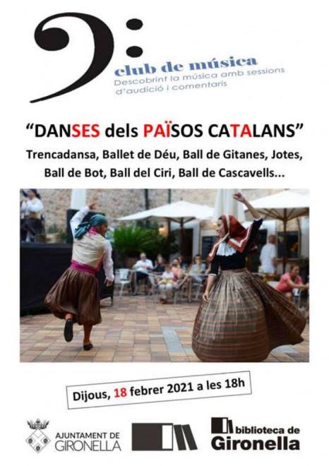 Club de Música: danses dels Països Catalans @ Biblioteca de Gironella