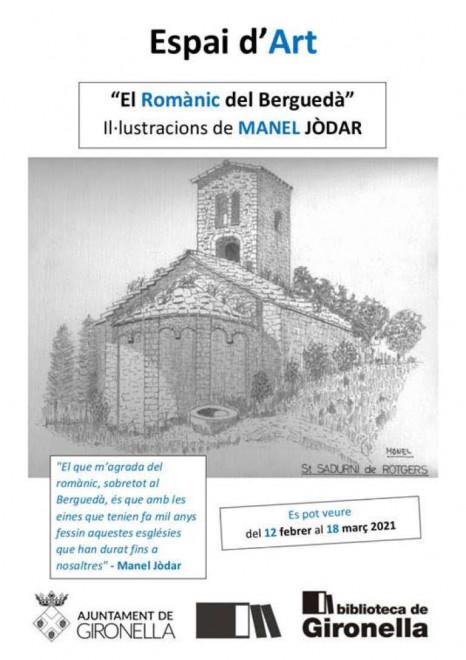 """Exposició """"El romànic del Berguedà"""" @ Biblioteca de Gironella"""
