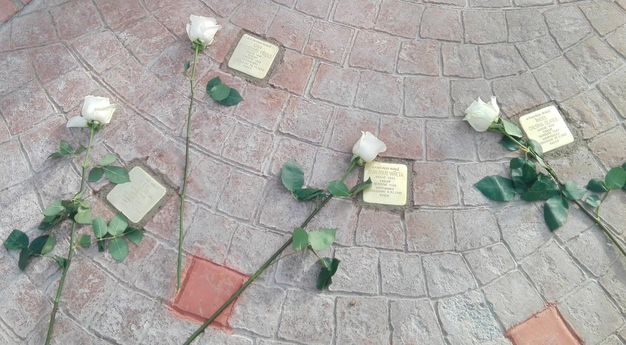 Puig-reig col·locarà noves llambordes a la plaça de la Creu en record als veïns deportats i assassinats pels nazis