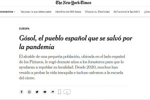 El 'The New York Times' es fixa en Gósol per explicar la revifada dels pobles petits arran de la Covid-19