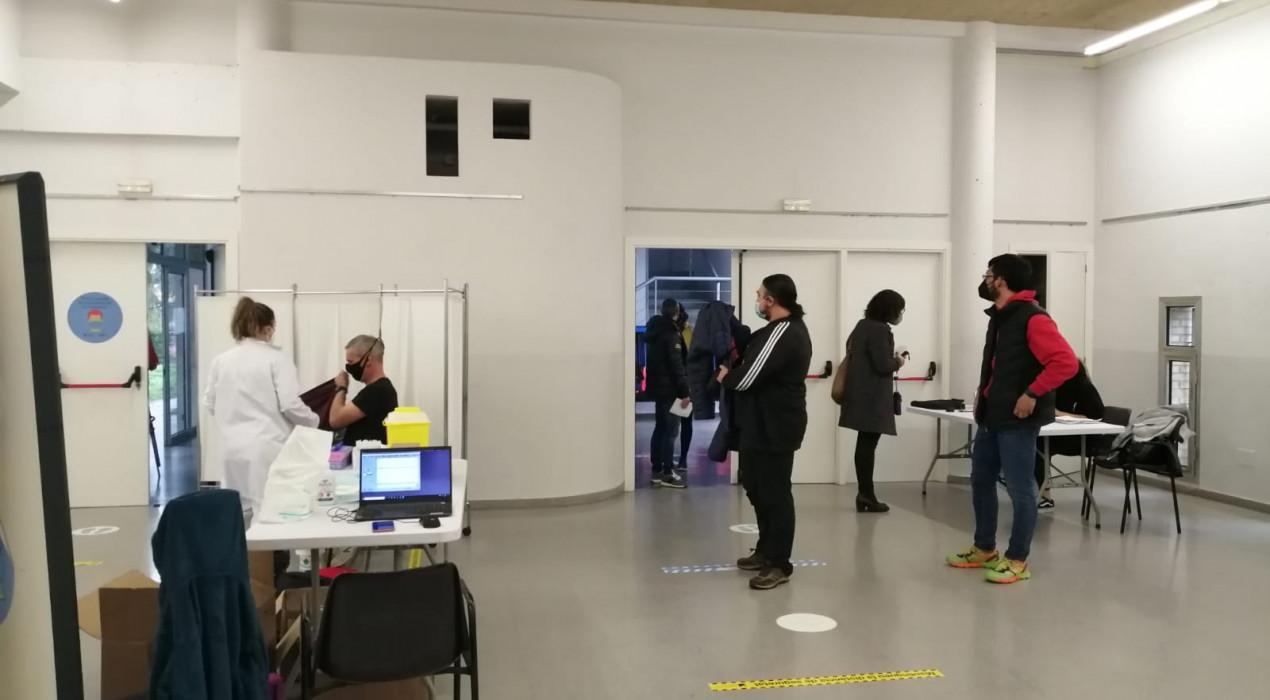 L'Hotel d'Entitats de Berga torna a vacunar amb AstraZeneca
