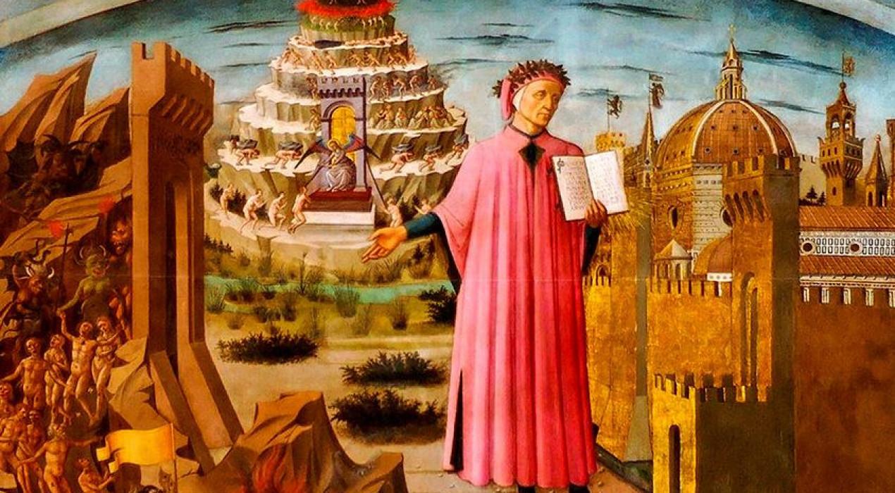 Exposició 700 anys de Dante Alighieri