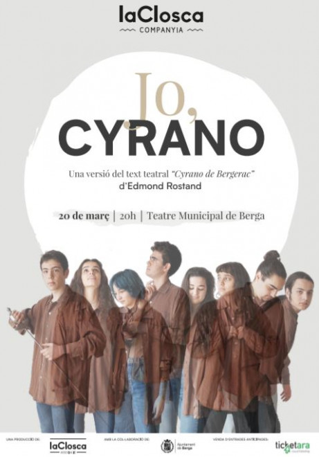 JO, CYRANO @ Teatre Municipal de Berga